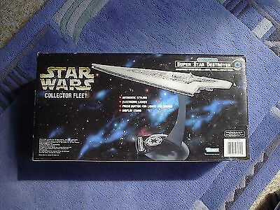 STAR WARS Collector Fleet  - imperial SSD EXECUTOR - OVP - Light&Sounds