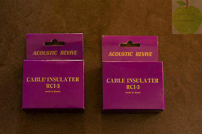 Acoustic Revive RCI-3 cable insulater x2