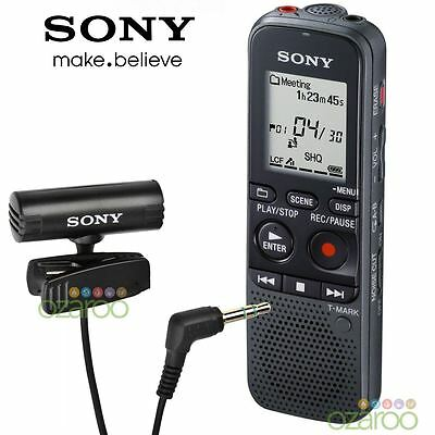 Sony 4GB PX Series MP3 Digital Dictaphone Voice IC Recorder with Microphone New