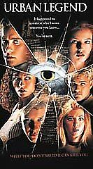 Urban Legend-VHS-One Of The Best Psycho Horror Flicks Ever-Scary Yet Fun !!