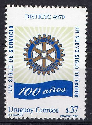 Rotary international centenary URUGUAY Sc#2100 MNH STAMP