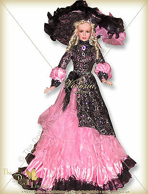 "NRFB!  ""VICTORIA ""42 inch Porcelain doll BY RUSTIE- #057 OF ONLY 750 MADE!"