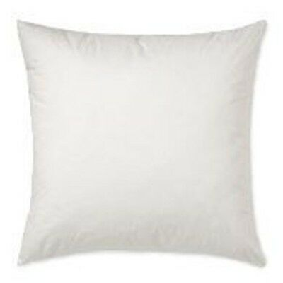 """26x26""""- 95% Feather 5% Down Square Pillow Insert"""