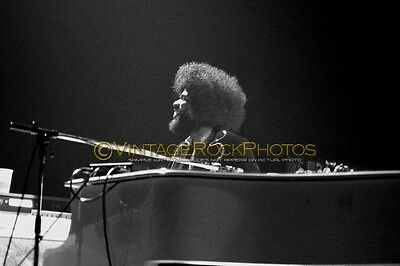 Billy Preston Rolling Stones Photo 8x12 or 8x10 inch '75 Vintage Live Concert 45