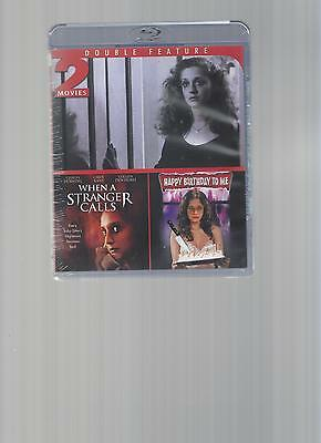 2 MOVIES-WHEN A STRANGER CALLS&HAPPY BIRTHDAY TO ME/BLU-RAY/BUY ANY 4 FREE SHIP