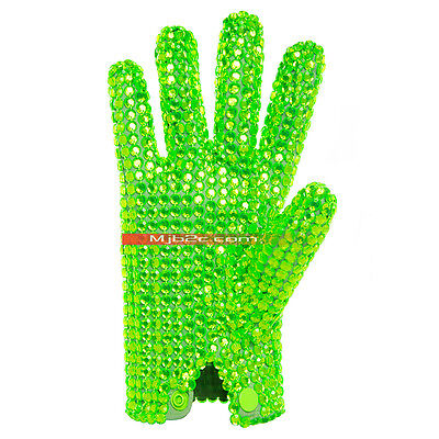 Michael Jackson Costume - Ultimate Collection Diamond Glove - Green