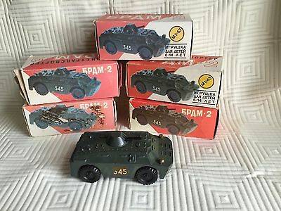 Soviet Diecast 6PAM-2 Tank Scale 1:43 Russian Collector's Series MIB T29