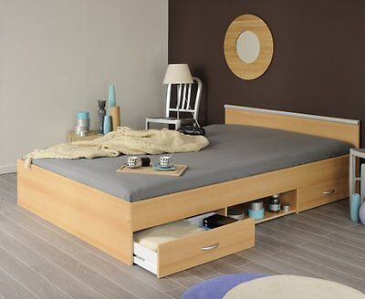 bett pocket einzelbett jugendbett sonoma eiche mit. Black Bedroom Furniture Sets. Home Design Ideas