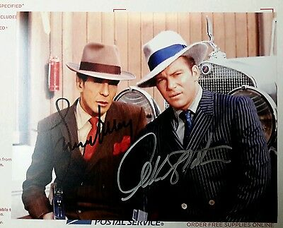 Leonard Nimoy/William Shatner STAR TREK AUTOGRAPH Spock/Kirk Piece of the Action