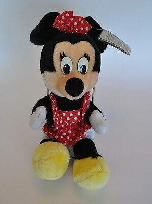 Disney Minnie Mouse Plush Doll Disneyland Vintage Toy Walt Disney World