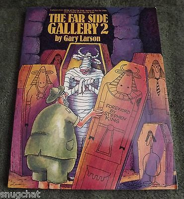 The Far Side Gallery 2 by Gary Larson © 1986 5th Ptg 8/87 Stephen King Foreword