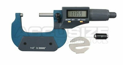 "1-2""x0.00005"" 2 Key Electronic Digital Outside Micrometer with Output #MD71-0002"