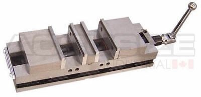"""6"""" Double Lock Machine Vise with 2 Clamping Stations, Jaw Width 6.3"""", #FA42-1242"""