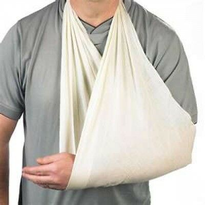 6 x Non Woven TRIANGULAR BANDAGE, Disposable Arm Sling, First Aid, HIGH QUALITY