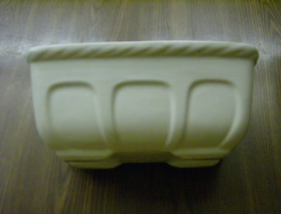 Vintage Hull Pottery Planter #F469 USA White Collectible