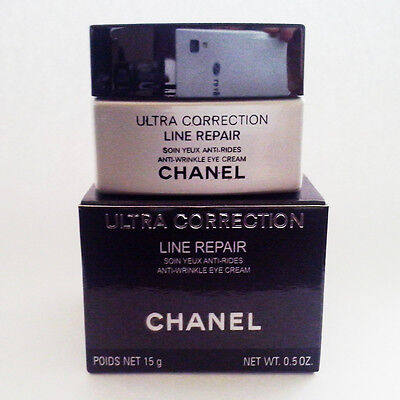 NEW CHANEL ULTRA CORRECTION LINE REPAIR ANTI-WRINKLE EYE CREAM 15ML + FREE PP