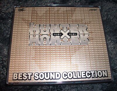Hunter x Hunter Best Sound Collection 4-CD set; Japan; Anime character songs