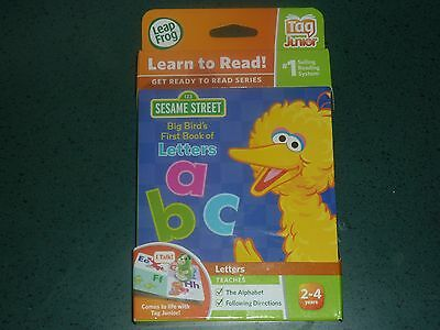 BRAND NEW LEAP FROG TAG JUNIOR Sesame Street Learn to Read Big Bird