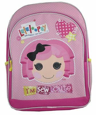 "Lalaloopsy 16"" Large School Backpack ""Im Sew Cute!"""