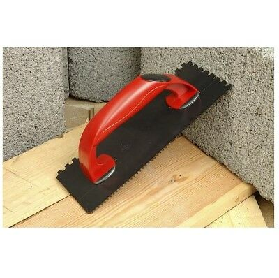Tilers Grout Float And Notched Tiling Trowl Tool 270 X 112  Red & Black
