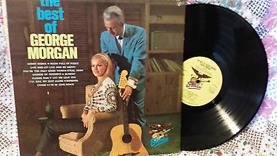 THE BEST OF GEORGE MORGAN ~ Starday 457 LP ~ classic early country rockabilly LP