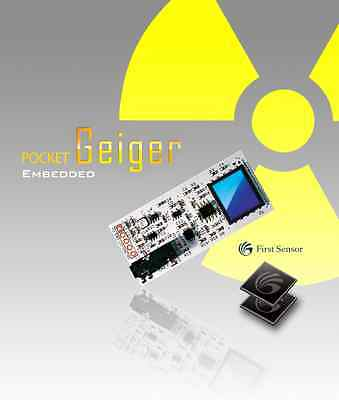 Pocket Geiger Counter for Micro Controllers ☢ Gamma/Xray Radiation Detector