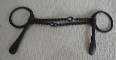 Vintage Iron and Steel  Horse Bridle Bit