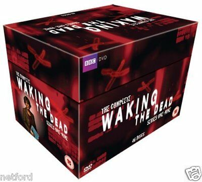 Waking The Dead 1-9 Complete Series Collection 46 Disc Dvd Box Set R4 New&sealed