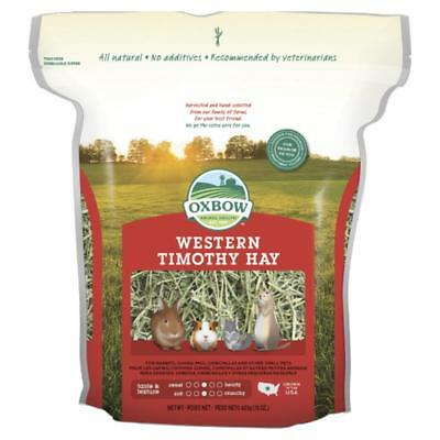 Oxbow Western Timothy Dry Grass Hay Natural Small Animal Feed Nest Bedding