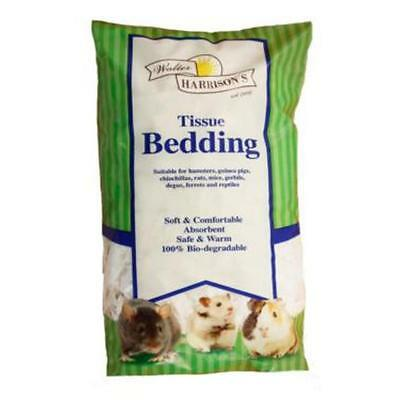 HARRISONS TISSUE BEDDING Small Animal Rodent Soft Flake Comfort Absorbent Nest
