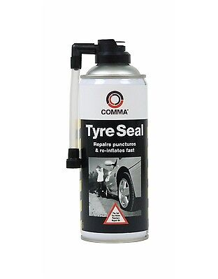 Comma Tyre Seal 400Ml - Emergency Puncture Repair Free Tracked Post