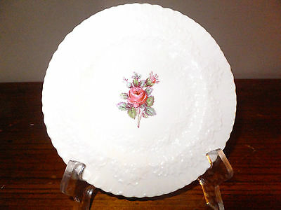 Spode Bread and Butter, Cake/Dessert Plate Bridal Rose Pattern