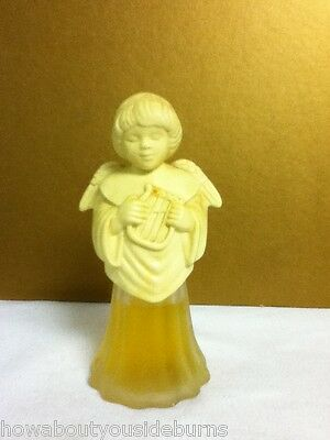 YQ6 VINTAGE AVON COLLECTIBLE ANGEL SONG WITH LYRE CHARISMA COLOGNE 1/2 FULL
