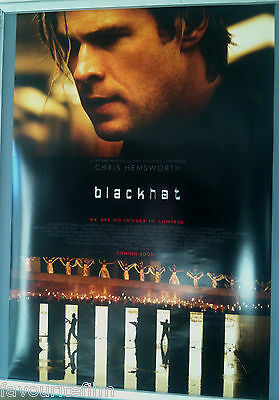 Cinema Poster: BLACKHAT 2015 (One Sheet) Chris Hemsworth William Mapother