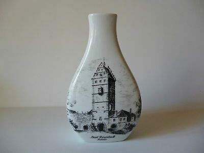 Small Kaiser W. German Porcelain Bud Vase 'Bad Neustadt' Hohntor