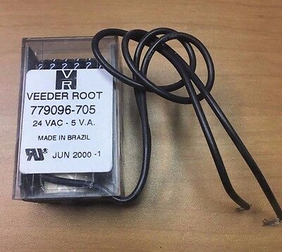 VEEDER ROOT Counter 779096-705 6 Digit Counter 24V