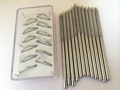 12 Dental Mirror Head with 12 Handle Top Quality  Dental Instruments