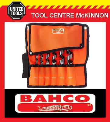 BAHCO 6pce (10 – 25mm) AUGER DRILL SET IN WALLET