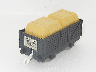 """Thomas The Tank Engine Tomy/trackmaster """"black Truck & Covered Freight """"ec"""