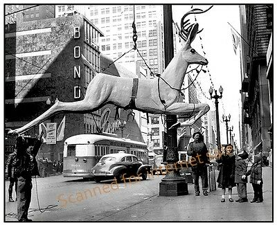 Vintage 1949 Photo ((Rudolph Red-Nosed Reindeer)) DELIVERED For Christmas Gift