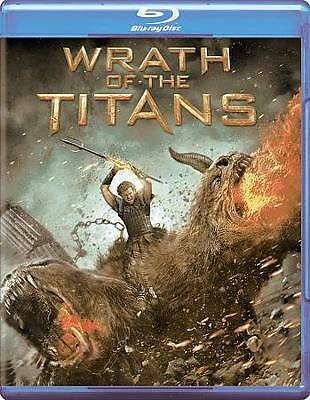 WRATH OF THE TITANS (Blu-ray, 1-Disc 2012)) NEW
