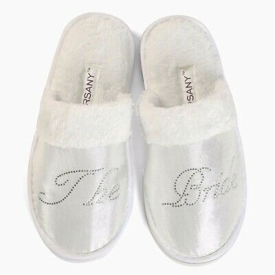 Clear Hen Party Spa Slippers wedding Bride Bridesmaid personalised bridal gifts