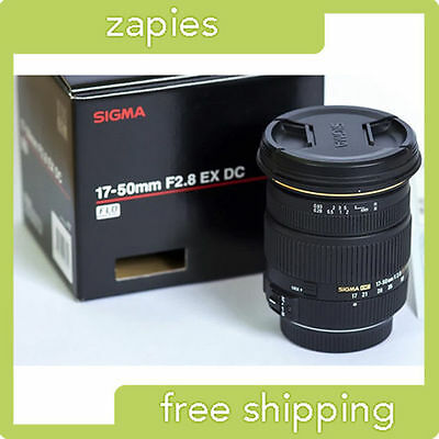Sigma DC 17-50 mm F/2.8 HSM EX DC Lens For Pentax - $319.95 New