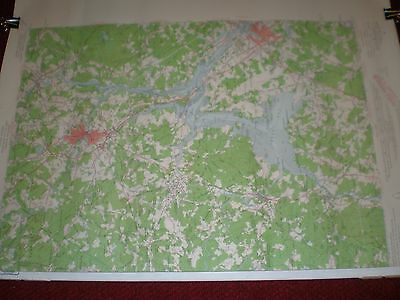 Vintage US Dept of Interior Geological Survey Topographic Map Dover, NH 1956