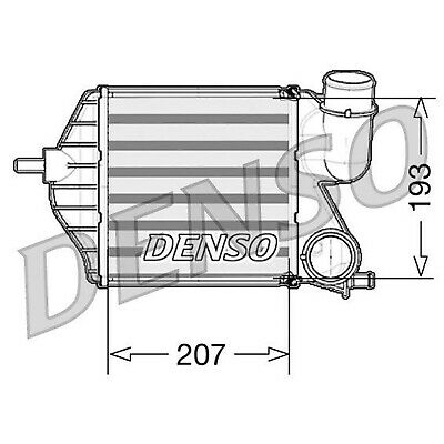DENSO Intercooler - DIT09102 - Charger - Genuine OE Part