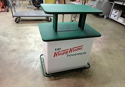 Krispy Kreme Doughnut Display Cart Very Nice