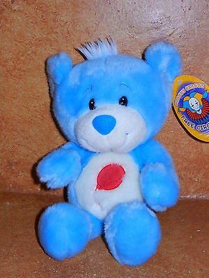Circus Circus Las Vegas Reno Teddy Bear Blue Soft Stuffed Plush Balloon Tummy