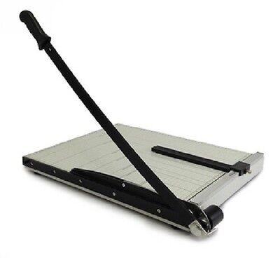 """PAPER CUTTER - 12"""" x 10"""" inch - METAL BASE TRIMMER NEW"""
