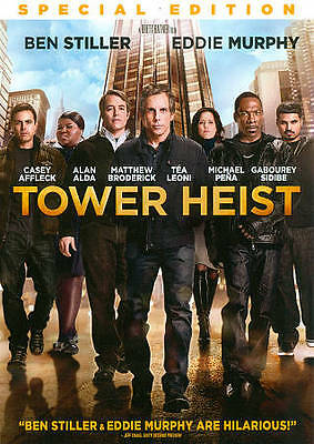 Tower Heist (DVD, 2012) DVD ONLY WITH NO CASE