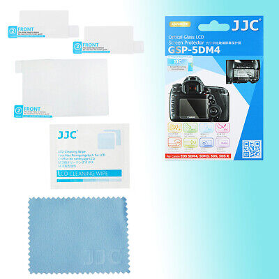 Canon 5D III 5DS R 9H Hard Tempered Glass LCD Protector Top & Back JJC GSP-5DM3